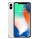 Apple iPhone X 256GB with Screen Protector for iPhone X - Silver